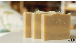 Body Scrub Soap with Milk & Honey Oats
