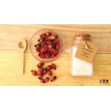 Natural Bath Salt & Body Scrub - Rose Geranium